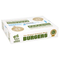 Paragon Quality Foods Ltd Basics Economy Burgers 48 x 113g (5.42kg)