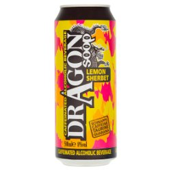 Dragon Soop Lemon Sherbet 500ml