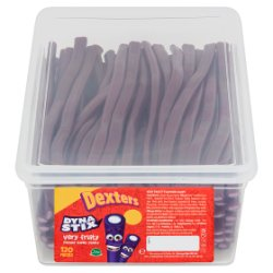 Dexters Dyna Stix Very Fruity Flavour Candy Sticks 120 Pieces