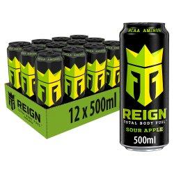 Reign Sour Apple 12 x 500ml