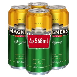 Magners Irish Cider Original Apple 4 x 568ml
