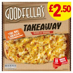 Goodfellas Takeaway Cheese GBP2.50