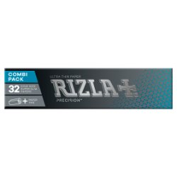 Rizla King Size Slim Precision Combi 32 Papers Plus 32 Tips