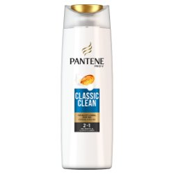 Pantene Pro-V Classic Clean 2in1 Shampoo & Conditioner For Normal To Mixed Hair 250ML