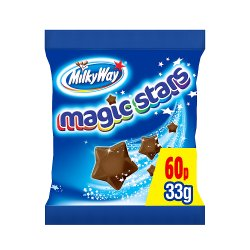 Milky Way Magic Stars Chocolate £0.60 PMP Bag 33g