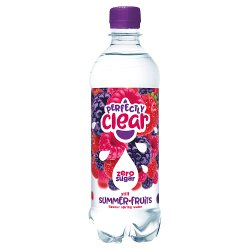 Perfectly Clear Still Summer Fruits Flavour Spring Water 500ml