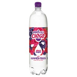 Perfectly Clear Still Summer Fruits Flavour Spring Water 1.5L
