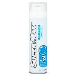Super-Max Sensitive Shave Gel 200ml