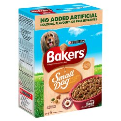 BAKERS® Small Dog Beef and Vegetable 1kg