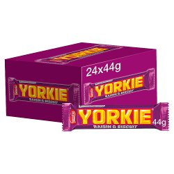 Yorkie® Milk Chocolate Bar with Raisin and Biscuit 44g