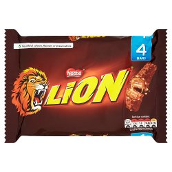Lion Milk Chocolate Bar Multipack 42g 4 Pack
