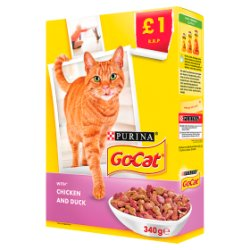 Go Cat Chicken & Duck PM £1