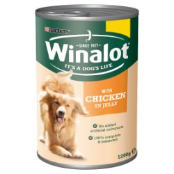 Winalot Adult Dog Food with Chicken in Jelly 1200g