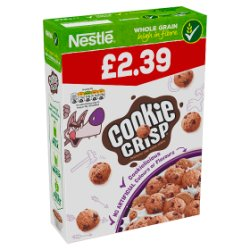 Cookie Crisp Chocolatey Chip Cookie Cereal 375g