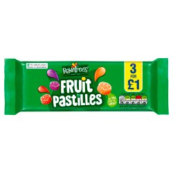 ROWNTREE'S Fruit Pastilles Sweets Multipack 45g 3 Pack £1