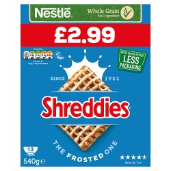 Shreddies The Frosted One 540g