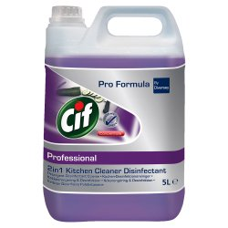 Cif Professional Business Solutions Concentrate 2in1 Cleaner Disinfectant 5L