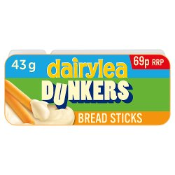 Dairylea Dunkers Breadsticks Cheese Snack 69p 43g