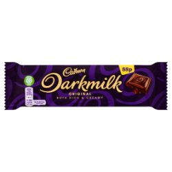 Cadbury Darkmilk 55p Chocolate Bar 35g