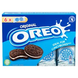 Oreo Original Vanilla Chocolate Sandwich Biscuit 132g