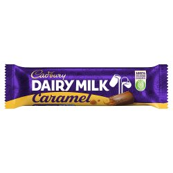 Cadbury Dairy Milk Caramel Chocolate Bar 45g