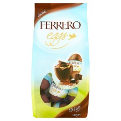 Ferrero Easter Chocolate Mini Easter Eggs 10 Pieces (100g)