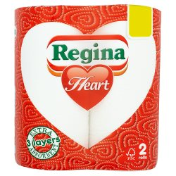 Regina Heart Kitchen Towel PM £1
