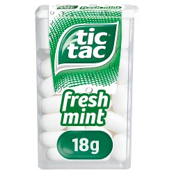 Tic Tac Fresh Mint Single 18g
