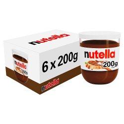 Nutella Hazelnut and Chocolate Spread Jar 200g