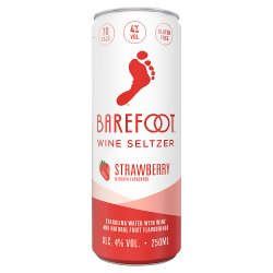 Barefoot Wine Seltzer Strawberry & Guava 250ml