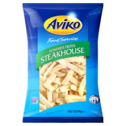 Aviko Food Service Pommes Frites Steakhouse 2270g