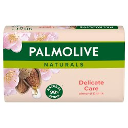 Palmolive Naturals Delicate Care Bar Soap with Almond Milk Triple Pack 3 x 90g