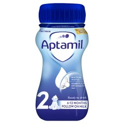 Aptamil with Pronutra+ Follow On Milk 2 from 6-12 Months 200ml