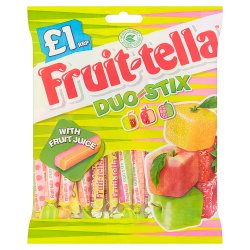 Fruittella Duo Stix Bag 135g