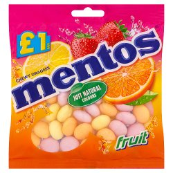 Mentos Fruit Bag 135g