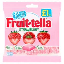 Fruittella Strawberry 100g