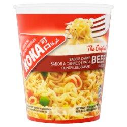 Koka The Original Beef Flavour Oriental Instant Noodles 70g