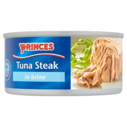 Princes Tuna Steak in Brine 185g