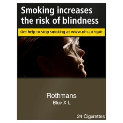 Rothmans Blue XL 24 Cigarettes