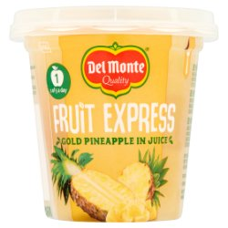 Del Monte Fruit Express Gold Pineapple Chunks in Juice 227g