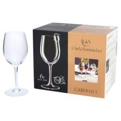 Chef & Sommelier Cabernet Wine Glasses 6 x 35cl