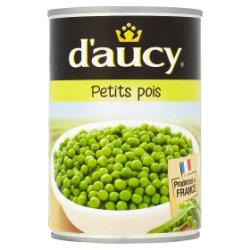 D'Aucy Petit Pois 400g
