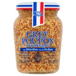 Grey Poupon Wholegrain Mustard 210g
