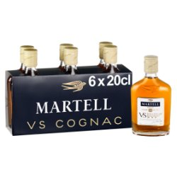 Martell VS Cognac 6 x 20cl