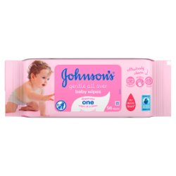 JOHNSON'S® Baby Gentle All Over Wipes 56 Wipes