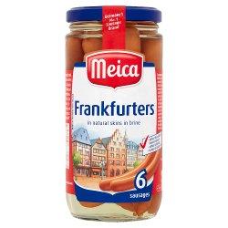 Meica Frankfurters 6 Sausages 375g