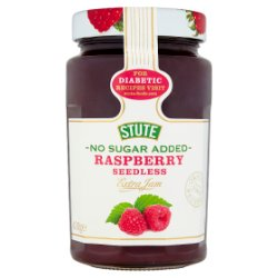 Stute No Sugar Added Raspberry Seedless Extra Jam 430g