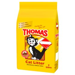 THOMAS® Cat Litter 5L (MPP £2.99)