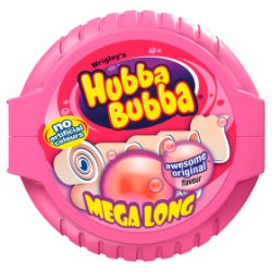 Hubba Bubba Fancy Fruit Bubblegum Mega Long Tape 56g