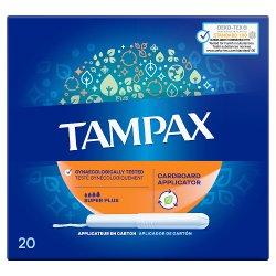 Tampax Super Plus Tampons Applicator 20X